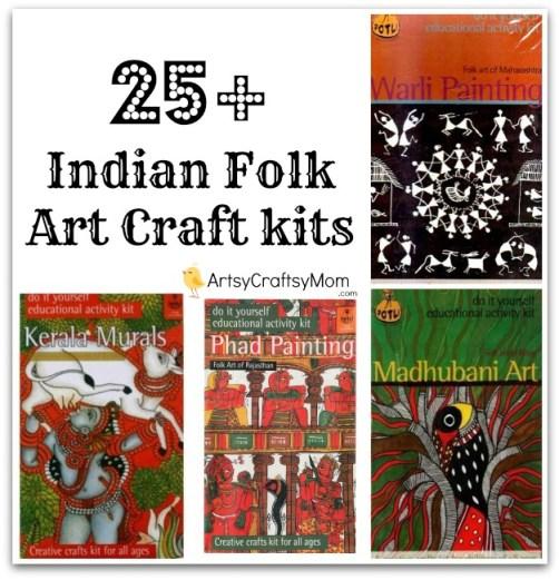 India-folk-art-craft-kits