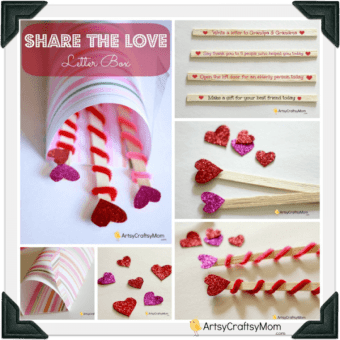 Raising a loving child - Love letter box activity