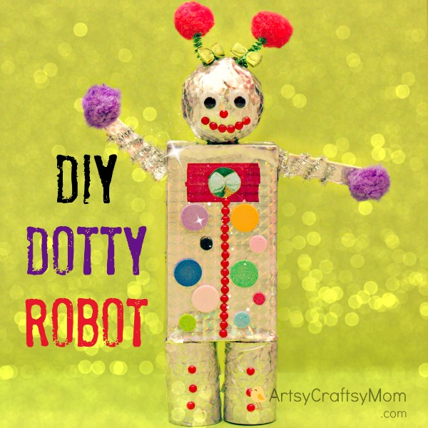DIY-Dotty-robot
