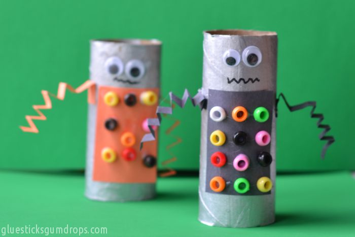 13 Robot Crafts Your Kids Will Beg To Make Artsy Craftsy Mom