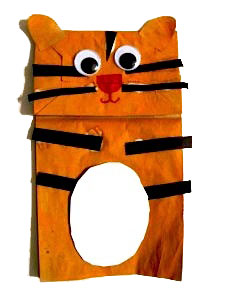 Make a paper bag tiger puppet  sc 1 st  Artsy Craftsy Mom & The ultimate list of 50+ Ideas for India Republic Day Party