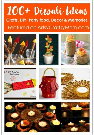 100+ Diwali Ideas - Cards, Crafts, Decor, DIY and Food