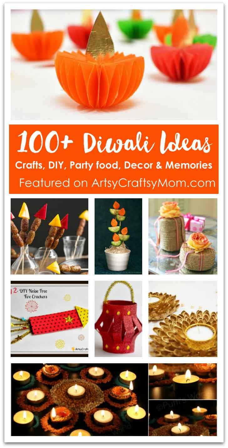 100+ Diwali Ideas   Cards, Crafts, Decor, DIY And Party Food Ideas