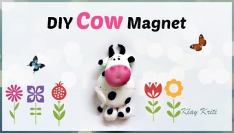 air dry clay cow step by step
