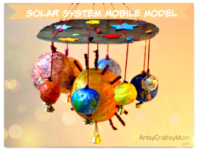 How To Make A Solar System Mobile Model Artsy Craftsy Mom