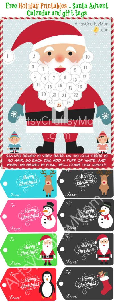 Santa-advent-calendar-Holiday-printable
