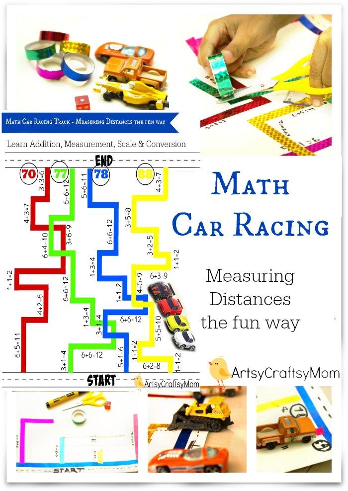 Math-Car-Racing-Track-Measuring-Distances-the-fun-way