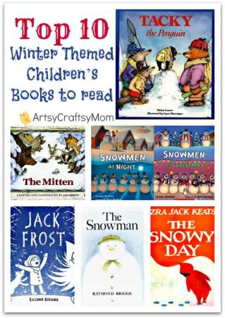Top 10 favorite Winter Themed Children's Books to read