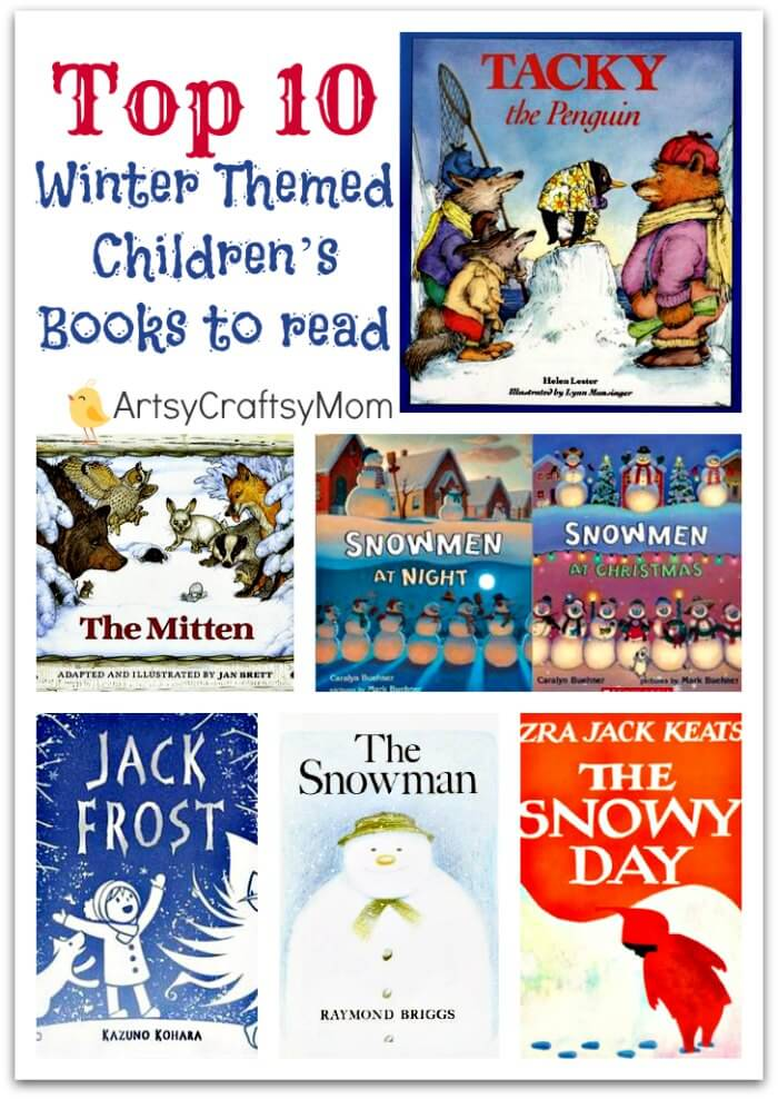 Top 10 Favorite Winter Themed Children S Books To Read Artsy
