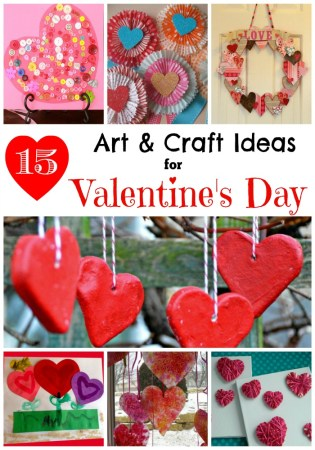 Best Art and Craft Ideas for Valentines Day