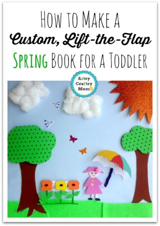 Make a Custom Lift-the-Flap Spring Book for a Toddler
