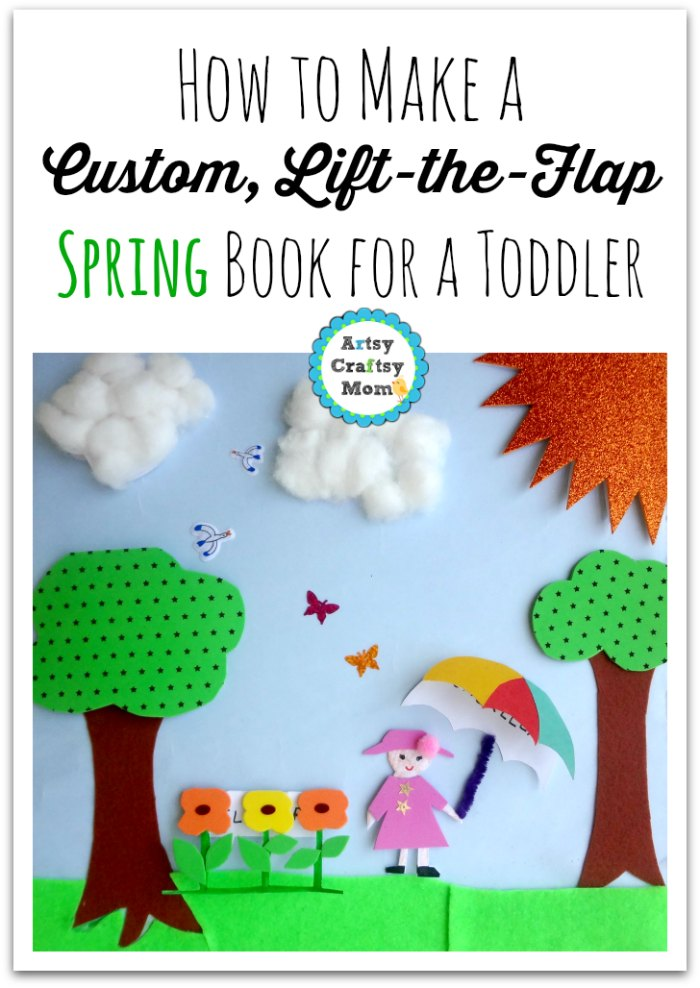 Custom Lift-the-Flap Spring Book for a Toddler