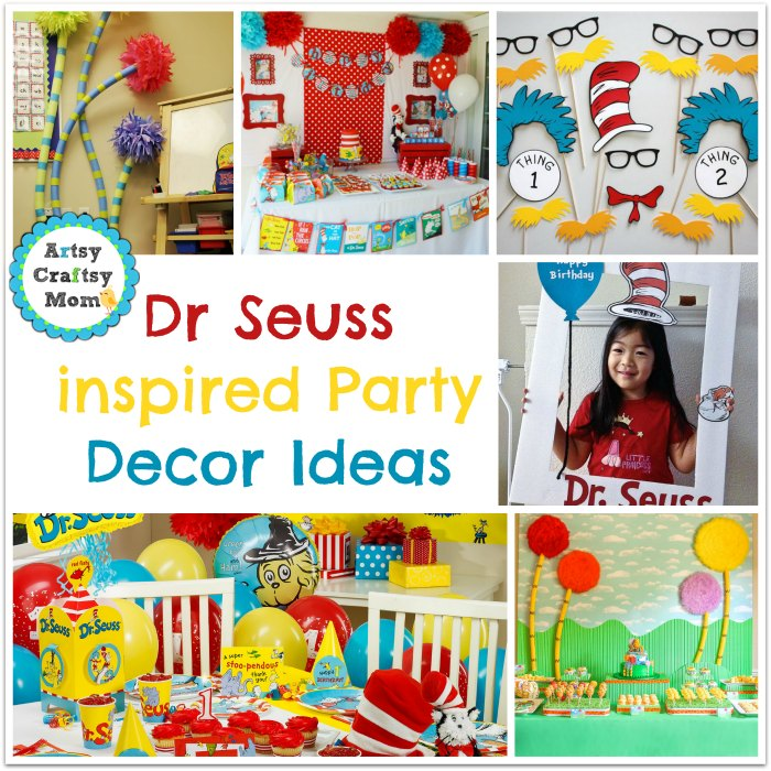 Dr Seuss inspired Party Decor Ideas