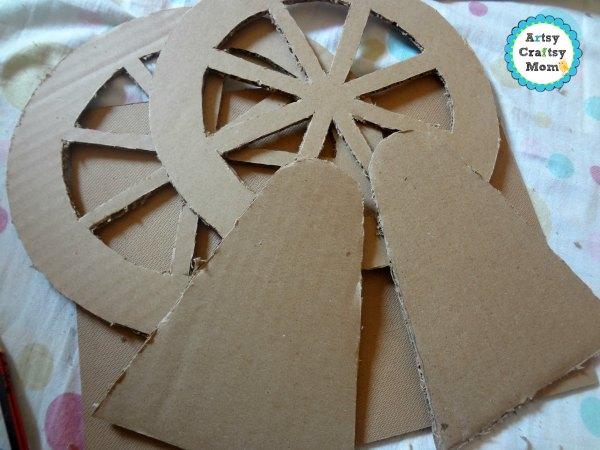 Valentine Ferris Wheel craft 1