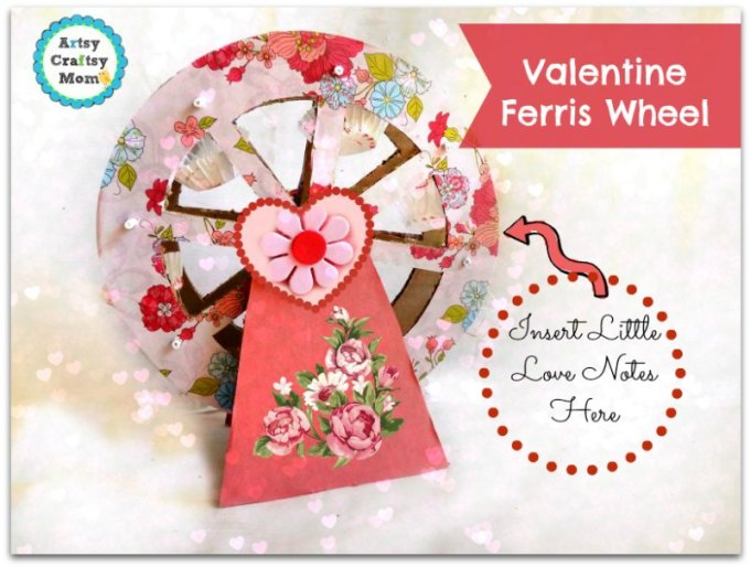 Valentine Ferris Wheel craft 3