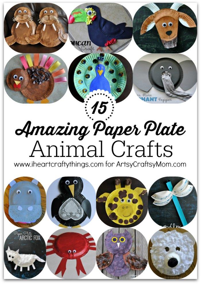 15 Amazing Paper Plate Animal Crafts1