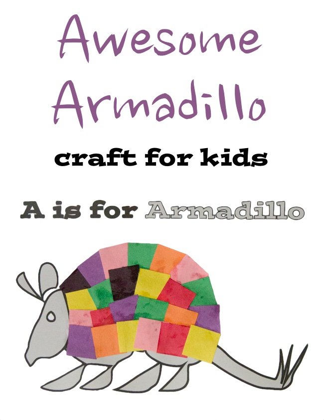 awesome armadillo craft for kids