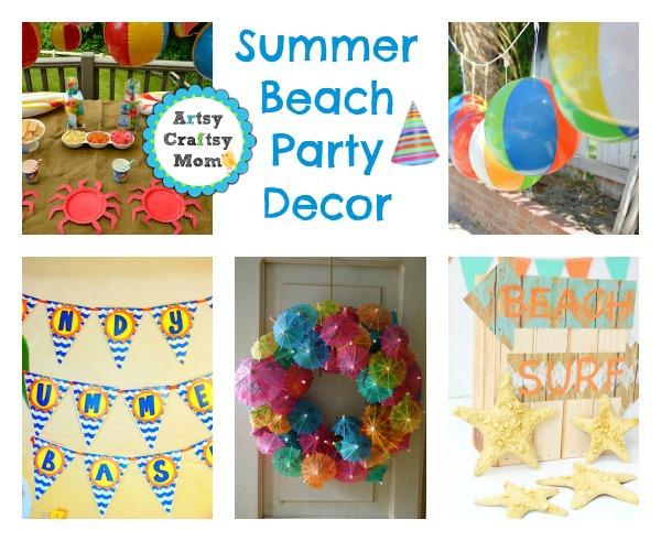 Summer Beach Party Decor Ideas