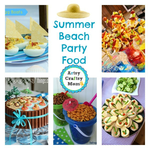Food Summer Beach Party Ideas