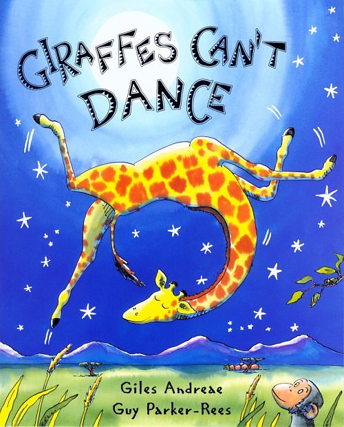 Giraffe-cant-dance-book