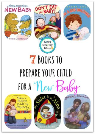 7 Books to prepare children for a New Sibling