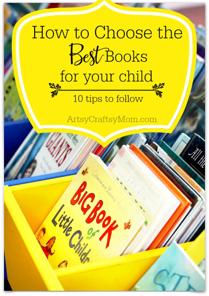 How to Choose the BEST Books for your child