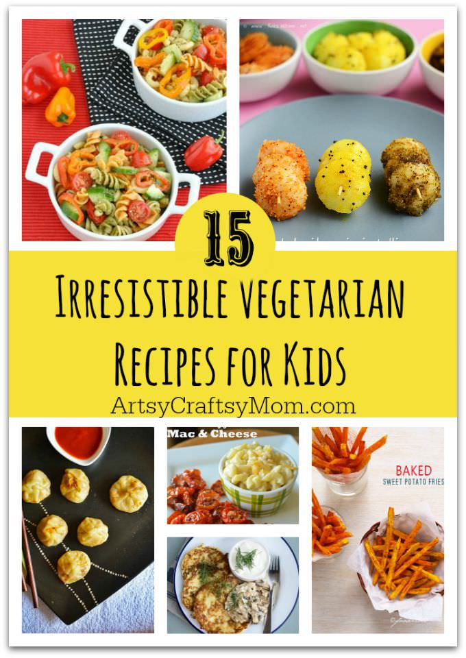 Is your kid a picky eater? Try these 15 Recipes That Will Make Your Kids Love Vegetables again. Fun finger foods in an all new healthy vegetarian avatar.
