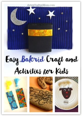Easy Bakrid Craft and Activities for Kids