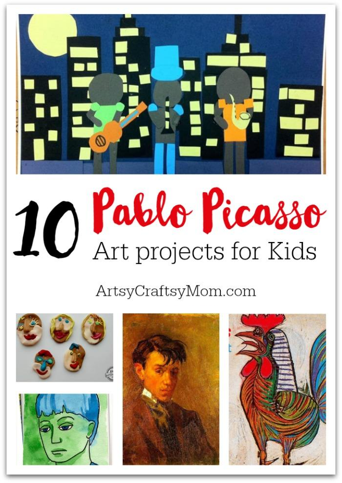 Top 10 Pablo Picasso Projects for