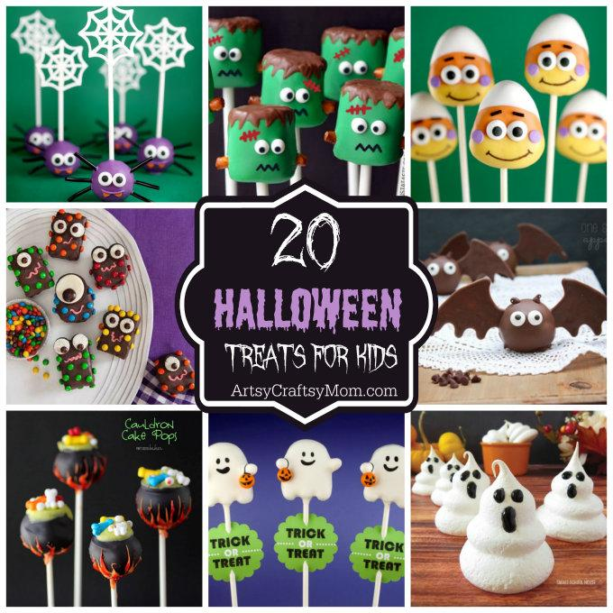 20 Absolutely Adorable Halloween Treats for Kids1