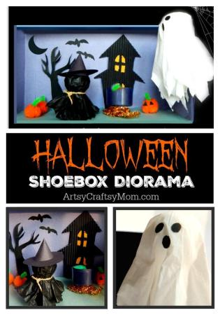 How to make a Halloween Shoebox Diorama