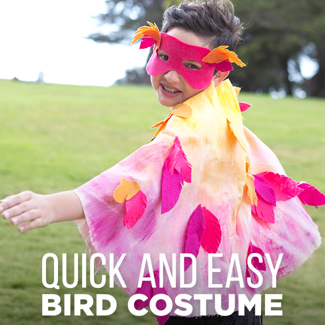 Last minute halloween bird costume - Try these 21+ Last minute Halloween costume ideas that are both creative and easy and you can pull off in less than one hour. Minions, bandits, dolls and more