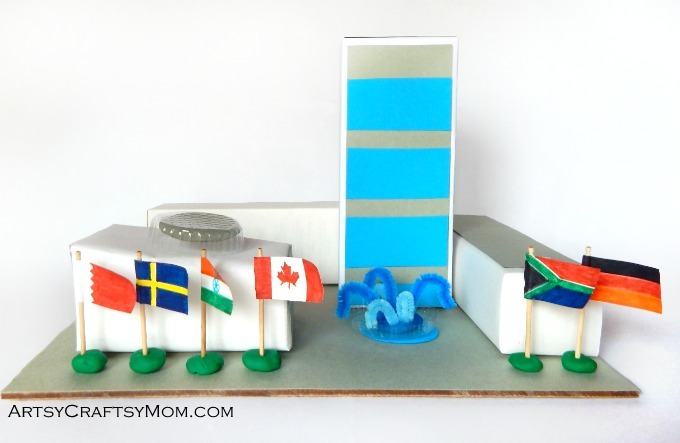 Celebrate United Nations Day on the 24th of October by creating a United Nations Headquarters Model study unit. An activity that's both fun & educational.
