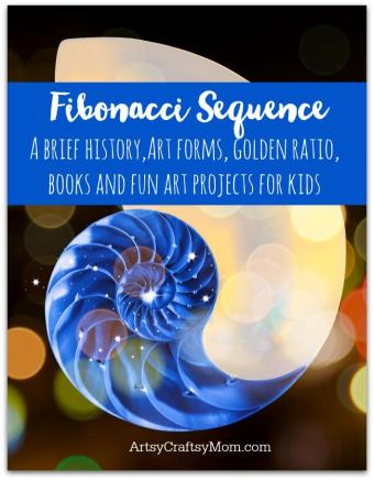 Fibonacci Storybooks and Art projects for kids