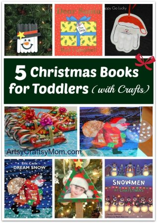 5 Christmas Books for Toddlers (with Crafts)