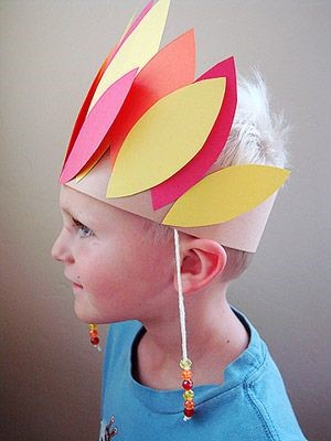 Chief Headress.Who ever said that hats were out of style? Join your kids in bringing hats back with these creative hat crafts for National Hat Day.
