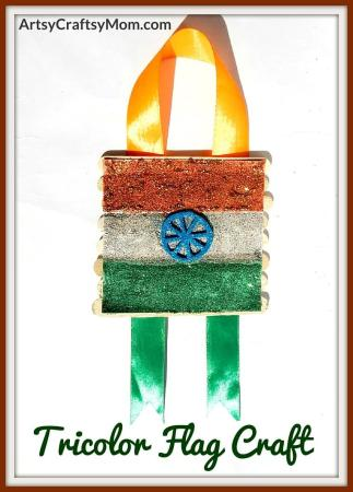 Republic Day is an occasion when the Indian Tricolor is celebrated in a grand way. Let's celebrate too, with a Popsicle Stick Tricolor Flag Craft for Kids!