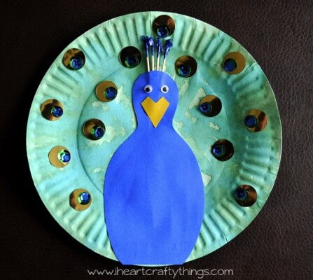 peacock crafts for kids