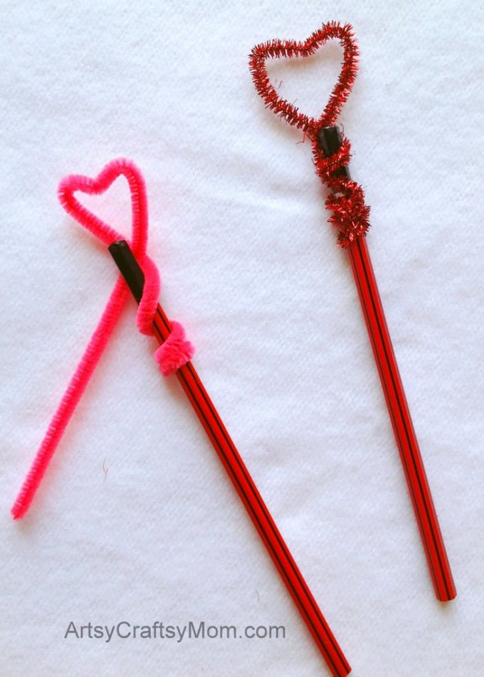 Heart-Shaped Pencil Toppers3