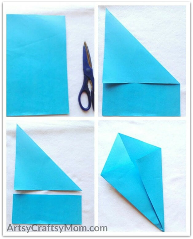 Craft Ideas For Kids With Paper Step By Step Part - 50: Make A Splash And Have A Whale Of A Time With This Adorable Origami Whale  Craft