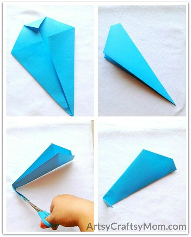 Easy Origami Whale Craft For Kids Artsy Craftsy Mom