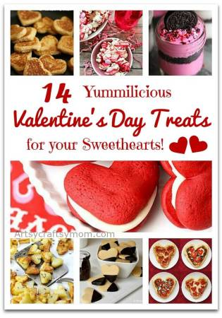 14 Yummilicious Valentine's Day Treats for your Sweethearts!