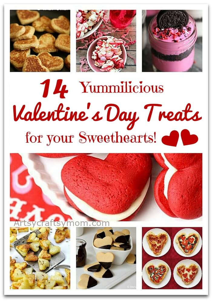 Make this year's Valentine's extra sweet with these yummilicious Valentine's Day treats for your little sweethearts. You can also give them as gifts!