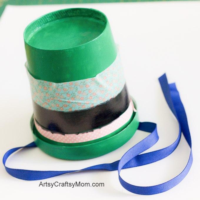 St Patrick's Day Mini Top Hat3