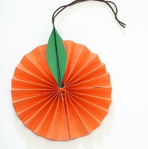 paper orange craft-001