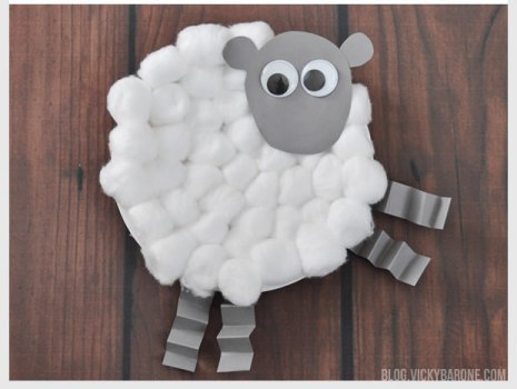 Lamb Easter Craft. Get your kids in the spirit of Easter and spring with these simple and adorable paper & 12 Adorable Paper Plate Easter Crafts