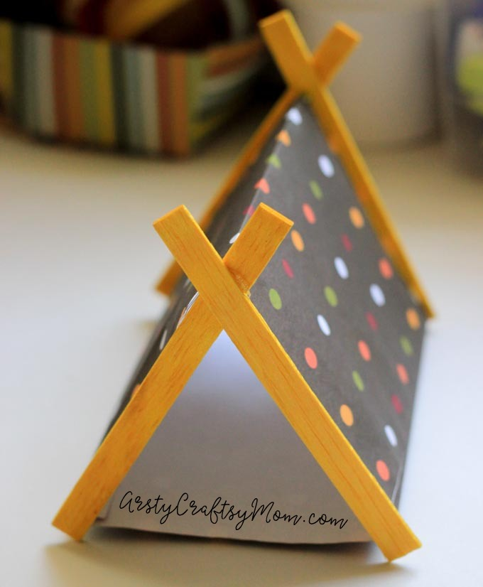 Paper Fireplace Crafts