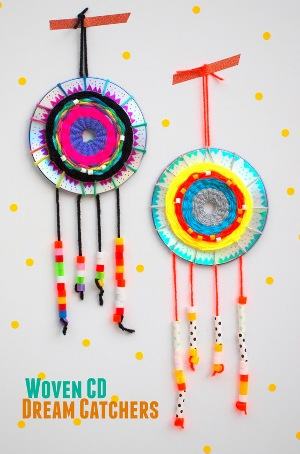 15 awesomely clever crafts made with recycled cds for Waste things uses