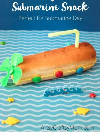 Hot Dog Bun Submarine Snack
