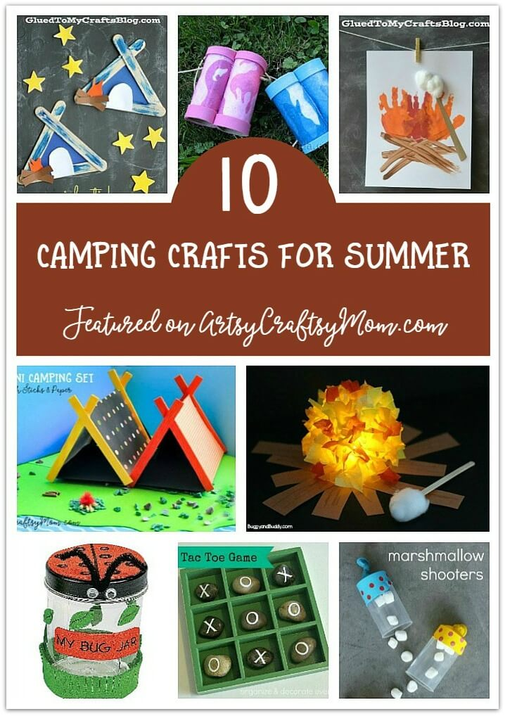 100 Summer Crafts Activities For Kids Summer Camp At Home Ideas
